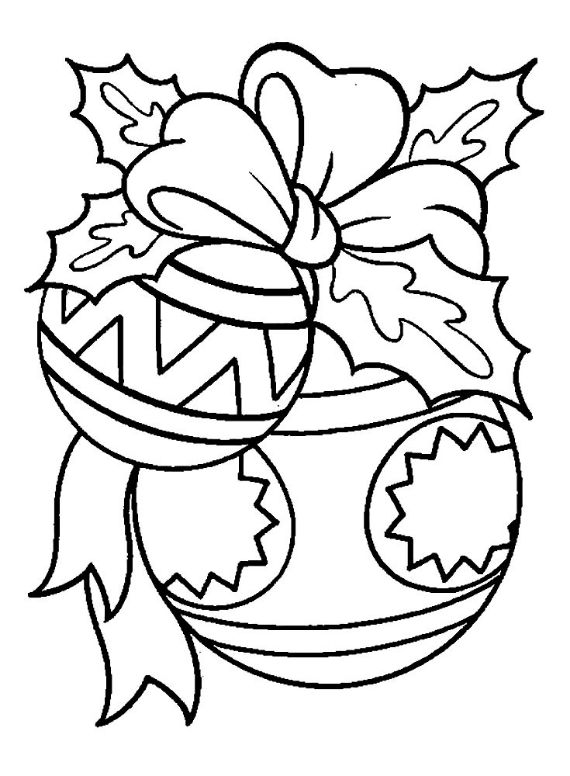 60 Christmas Balls Coloring Pages Family Holiday Net Guide To Family Holidays On The Internet