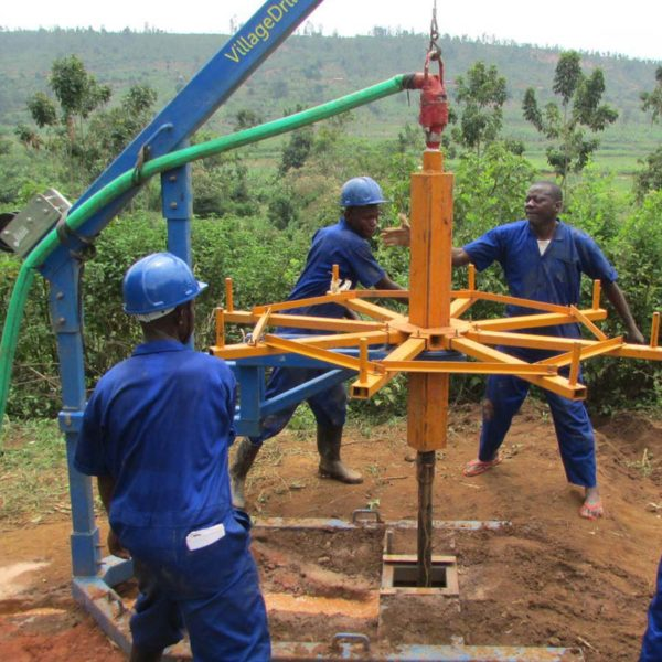 Drilling for clean water