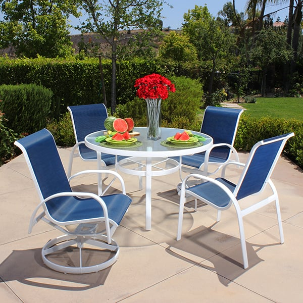 capri sling dining collection by alu