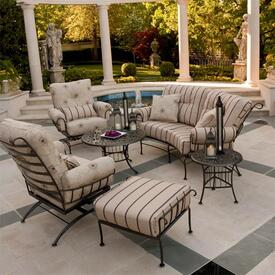 deep seating patio furniture family