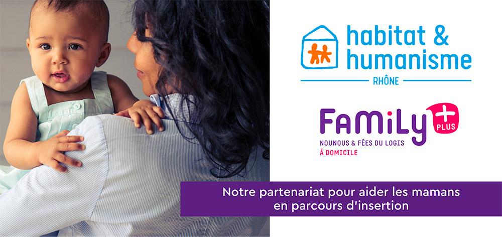 Notre partenariat pour aider les mamans en parcours d'insertion