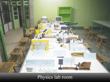 13 (physic lab room)