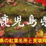 鹿児島県の気になる紅葉名所と見頃時期は?