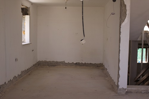 Ya'akov's room after the demolition