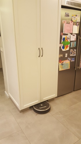 The iRobot's home.