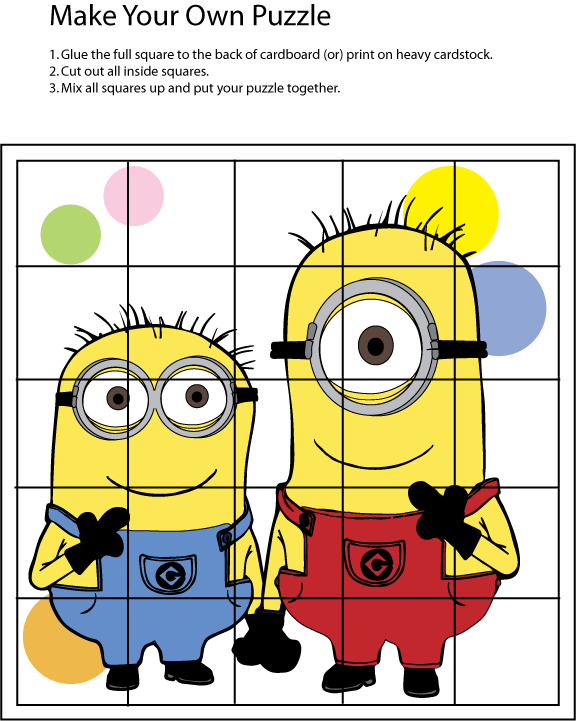 Free Printables and Activities from the Animated Movie ...