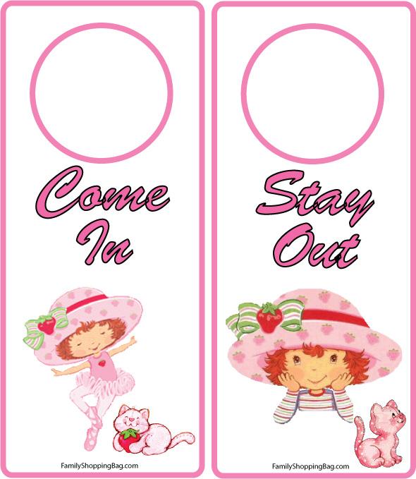Door Tags Templates. door hanger template free free printable door ...