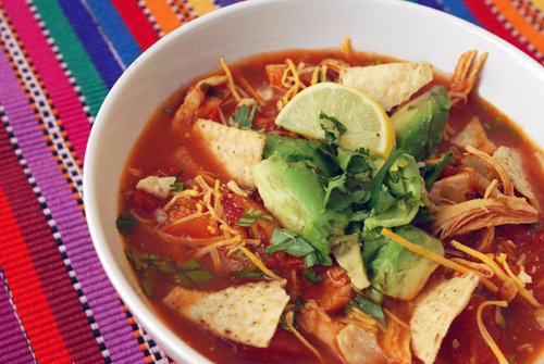 Tortilla Soup Recipe for My Frozen Friends