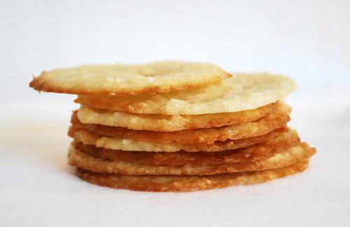 Lacy Coconut Crisps by FamilySpice.com