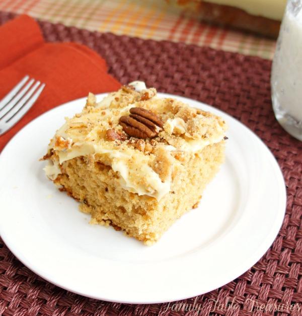 Praline Crunch Cake