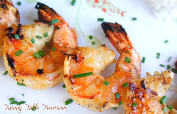 Grilled Shrimp {Scampi}