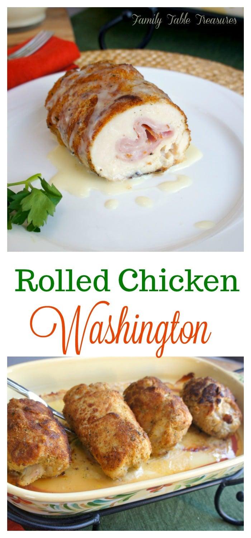 Rolled Chicken Washington