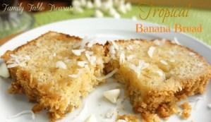 {Tropical} Banana Bread