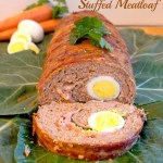 Mom's {Stuffed Meatloaf}