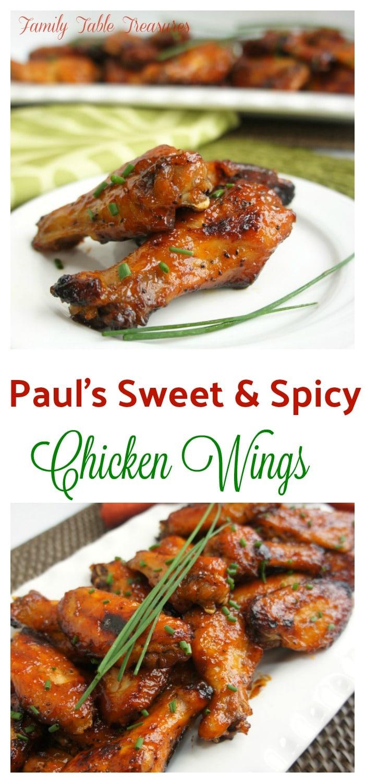 {Paul's} Sweet & Spicy Wings