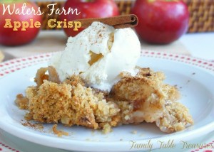 {Water's Farm} Apple Crisp