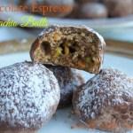 Chocolate Espresso Pistachio Balls