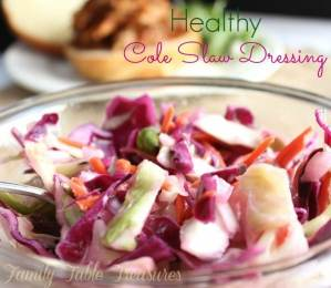 {Healthy} Cole Slaw Dressing