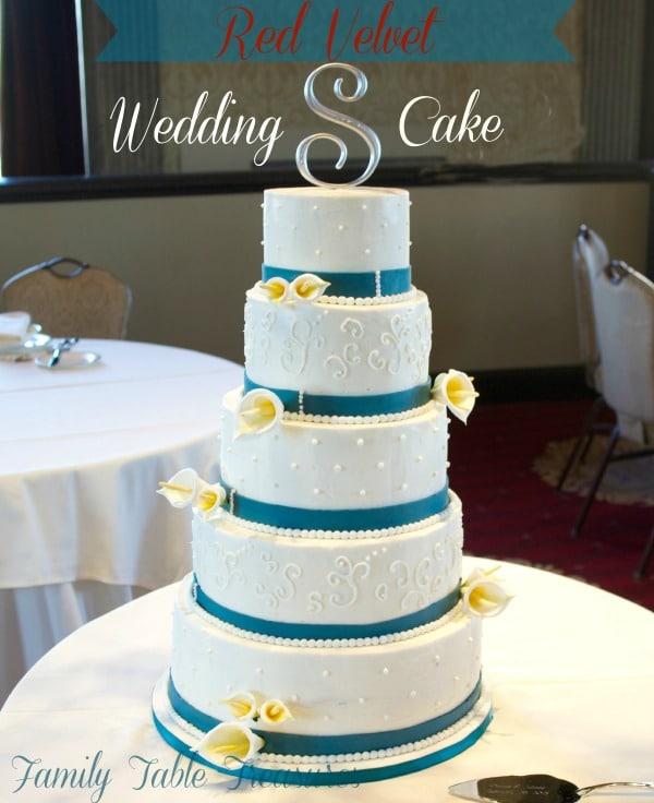 Red Velvet} Wedding Cake - Family Table Treasures