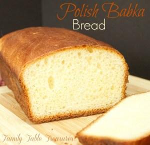 Polish Babka Bread {Celebrating Our Heritage Series}