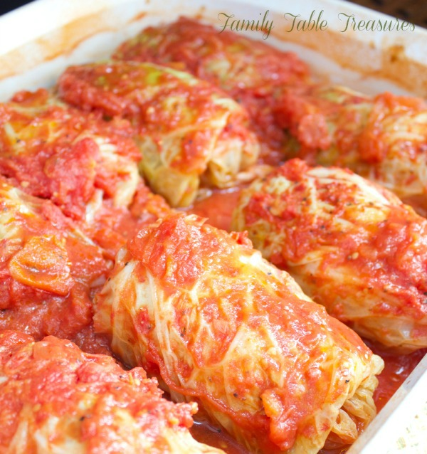 Polish Cabbage Rolls {Galumpkis} {Celebrating Our Heritage Series}