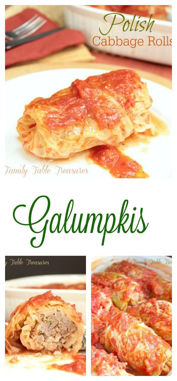 Polish Cabbage Rolls {Galumpkis}