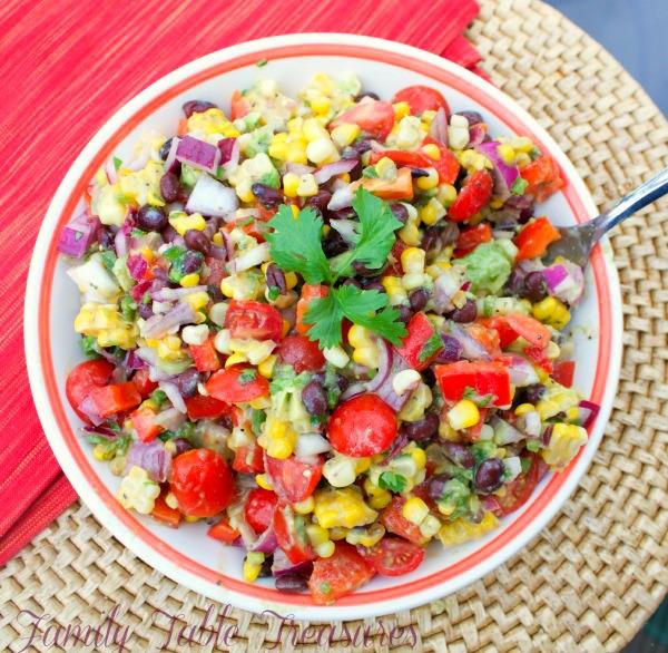 Black Bean Corn Avocado Salad