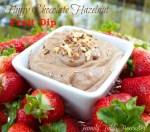 Fluffy Chocolate Hazelnut Fruit Dip