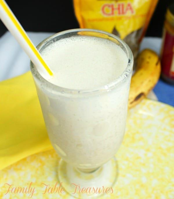 Frozen Banana Protein Smoothie