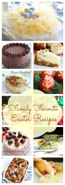Family Favorite Easter Recipes