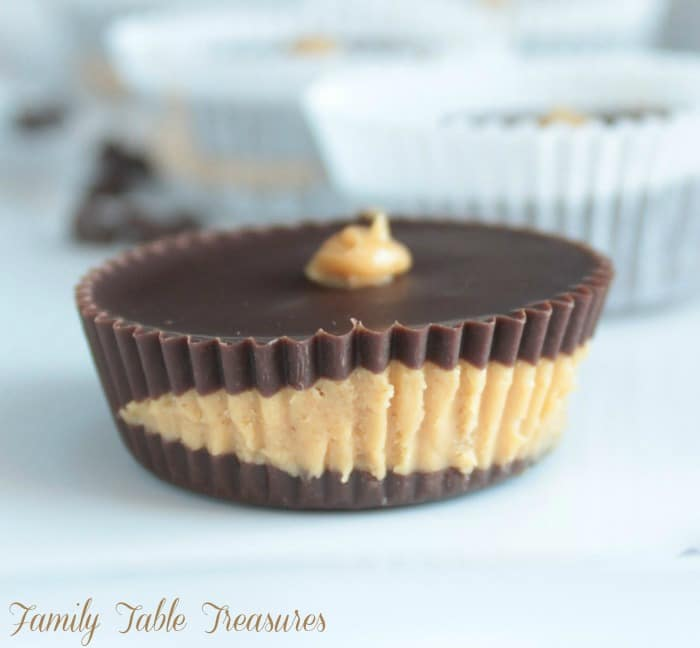 Homemade Peanut Butter Cups {Dairy Free}