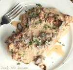 Creamy Chicken Marsala {with Pancetta}
