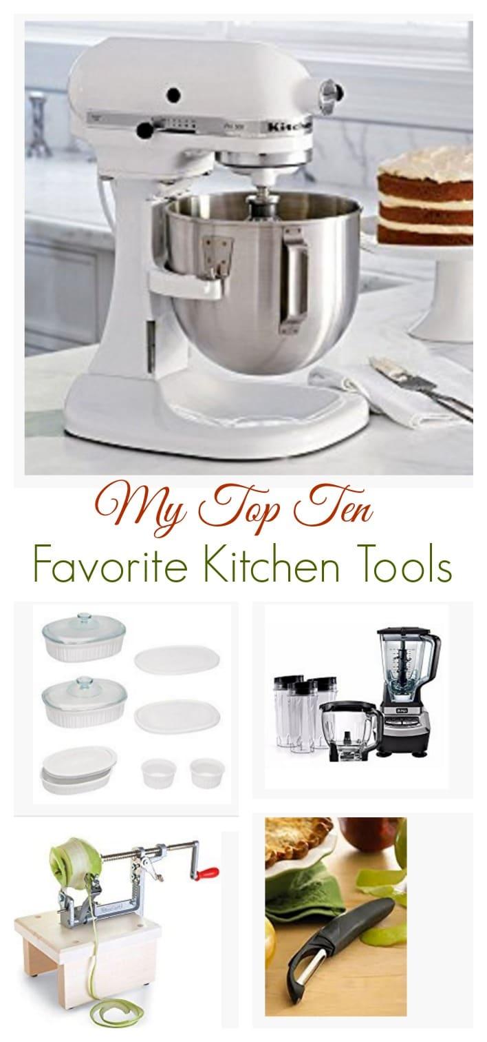 My Favorite Kitchen Tools