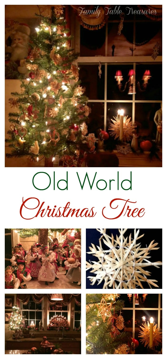 Old World Christmas Tree