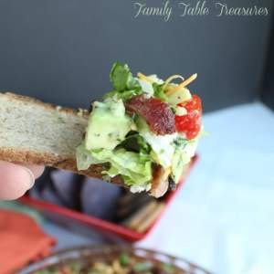 Ultimate Avocado BLT Dip