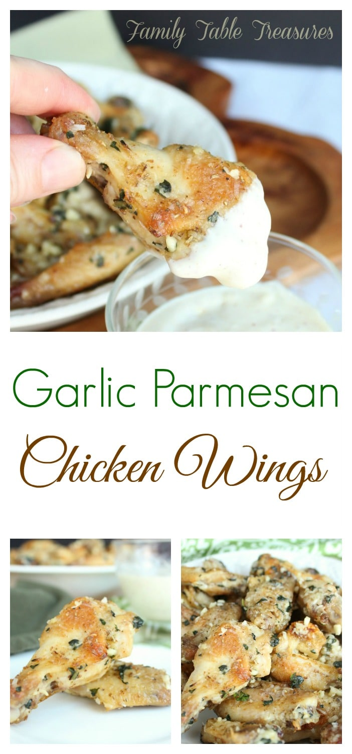 Garlic Parmesan Chicken Wings Recipe