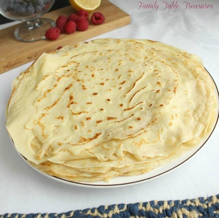 French Crêpe Recipe