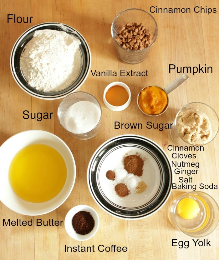 overhead picture of ingredients on a board