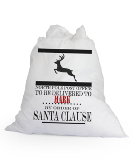Large White Santa Sack