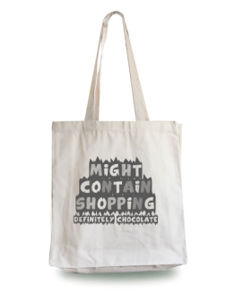Might Contain Chocolate Tote Bag