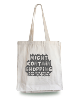 Might Contain Vodka Tote Bag