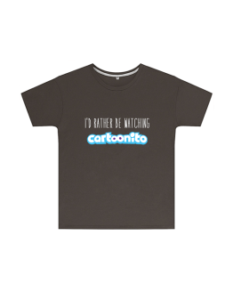 I'd Rather Be Watching Cartoonito T Shirt Childrens