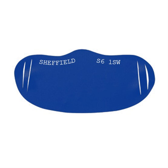 Sheffield Wednesday Custom Printed Face Covering