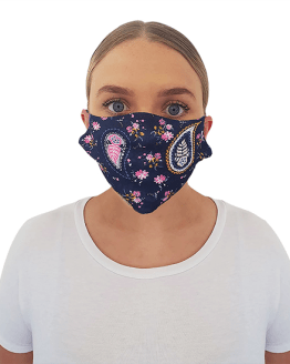 Paisley Print Face Covering