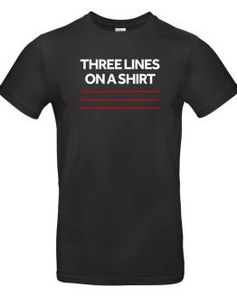 England Euro 2020 Three Lines T Shirt