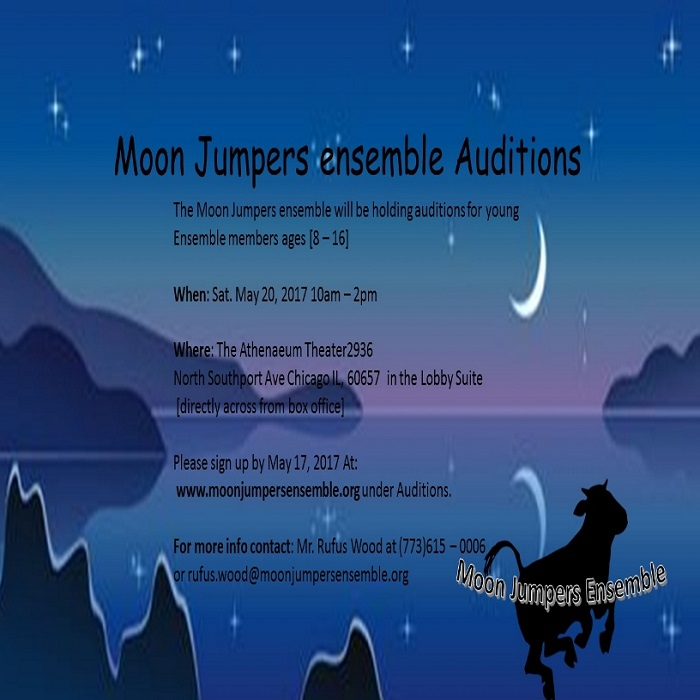 Moon Jumpers Ensemble auditions