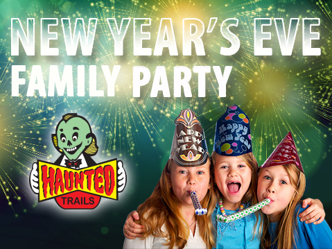 New Year's Eve Family Party at Haunted Trails Joliet