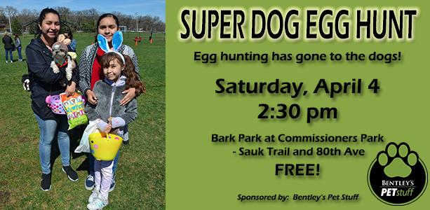 Super Dog Egg Hunt