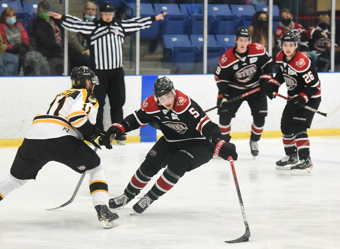Chicago Steel Hockey in Clark Cup Final Game 1