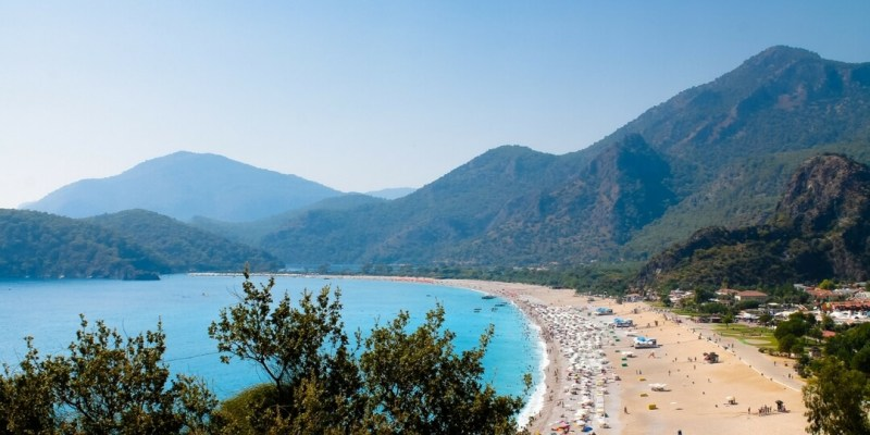 Ölüdinez Beach - South Western Turkey | Advice on travelling to the Middle East and dealing with summer heat